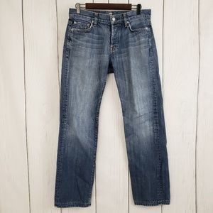 Men's 7 FOR ALL MANKIND Standard Button Fly Jeans